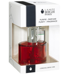 LAMPE BERGER OVALIE ROUGE